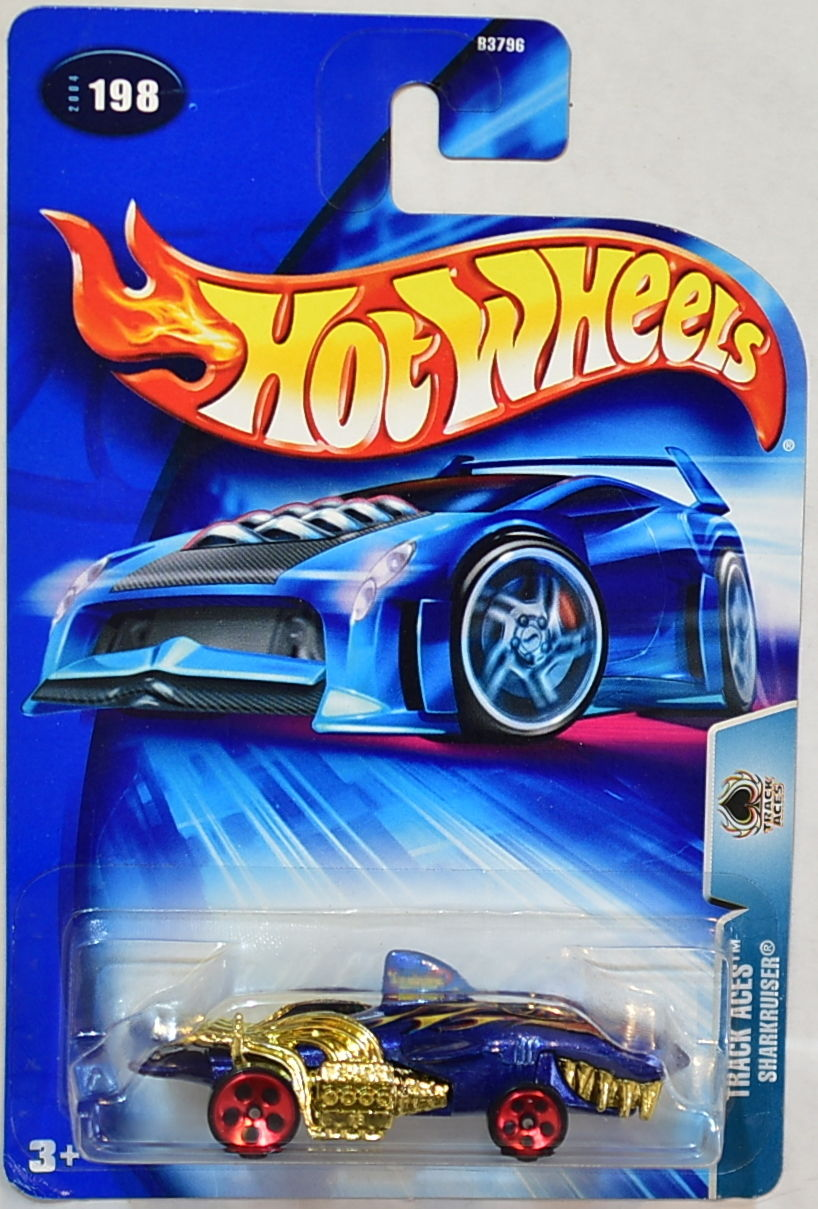 HOT WHEELS 2004 TRACK ACES SHARKRUISER #198