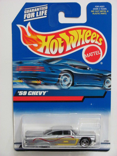 HOT WHEELS 2000 '59 CHEVY SILVER COLLECT.#116