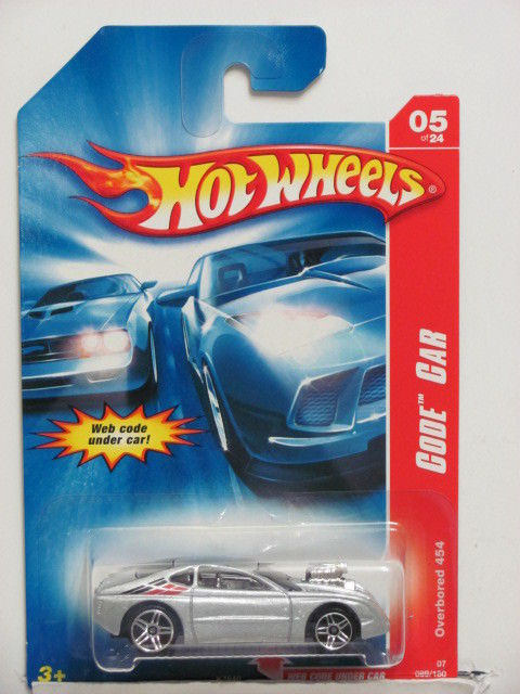 HOT WHEELS 2007 CODE CAR OVERBORED 454 #05/24
