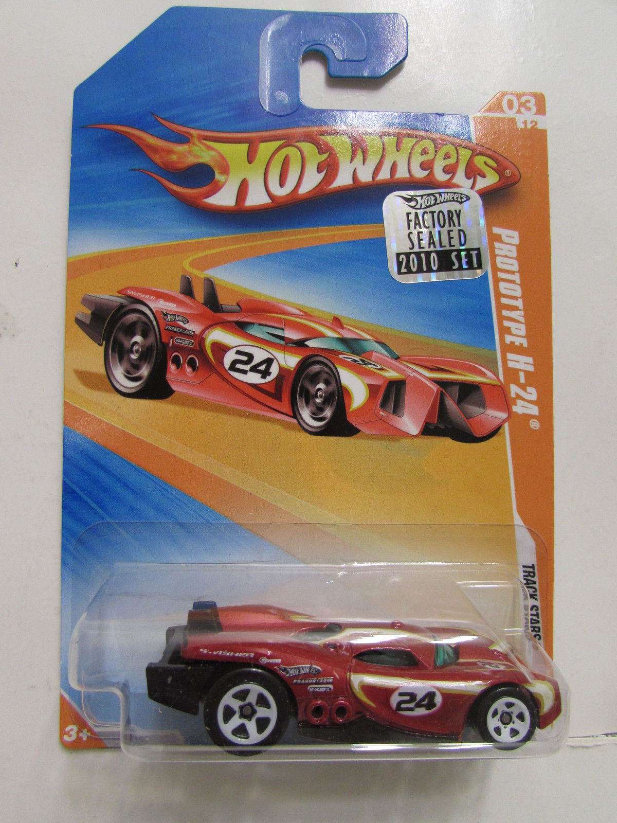 HOT WHEELS 2010 TRACK STARS PROTOTYPE H-24 FACTORY SEALED