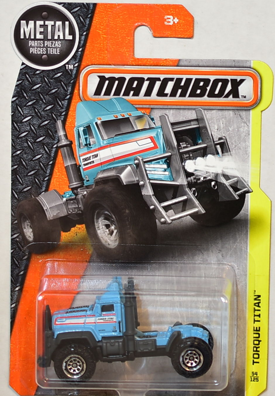 MATCHBOX 2016 METAL PARTS PIEZAS TORQUE TITAN