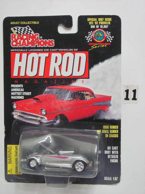 RACING CHAMPIONS HOT RODS '97 PROWLER SCALE 1:57 E+