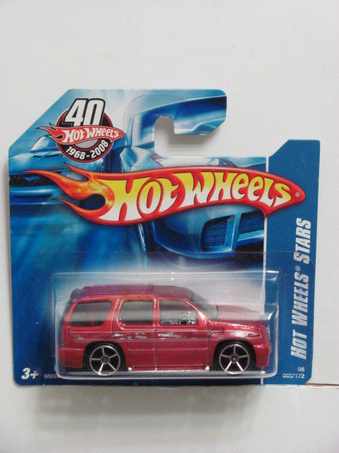 HOT WHEELS 2008 ALL STARS CADILLAC ESCALADE SHORTCARD