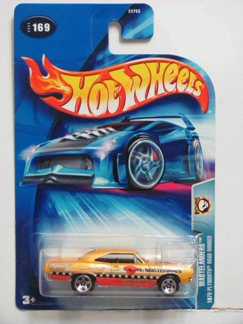 HOT WHEELS 2004 WASTELANDERS 1970 PLYMOUTH ROAD RUNNER