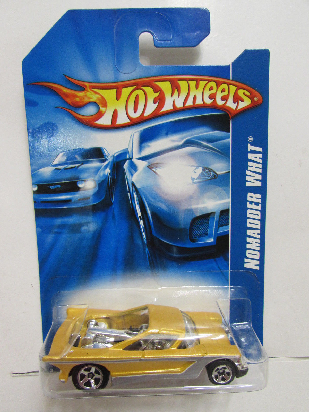HOT WHEELS 2006 NOMADDER WHAT YELLOW