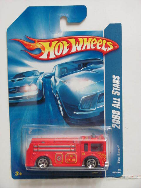 HOT WHEELS 2008 ALL STARS FIRE EATER RED