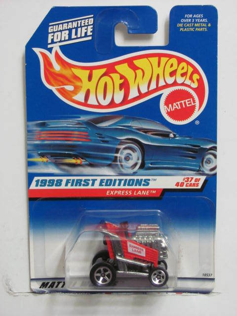 HOT WHEELS 1998 FIRST EDITIONS EXPRESS LANE RED