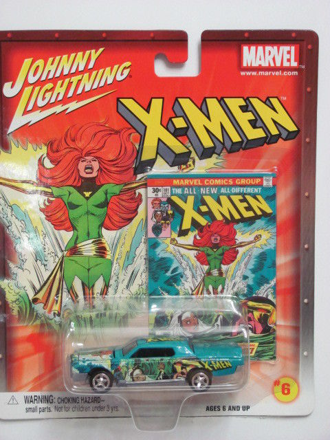 JOHNNY LIGHTNING MARVEL X-MEN CUSTOM CONTINENTAL #06