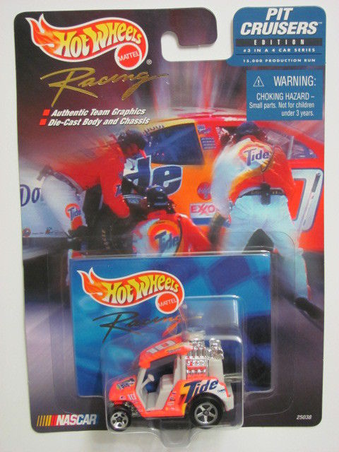 HOT WHEELS RACING PIT CRUISERS TIDE #10 FORD RUDD MOTORSPORTS