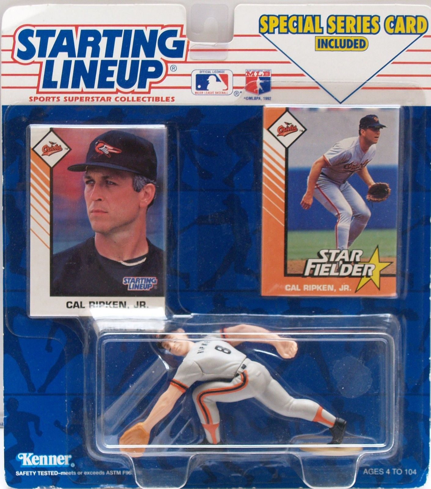 STARTING LINEUP - CAL RIPKEN, JR 1993 - BALTIMORE ORIOLES STAR FIELDER
