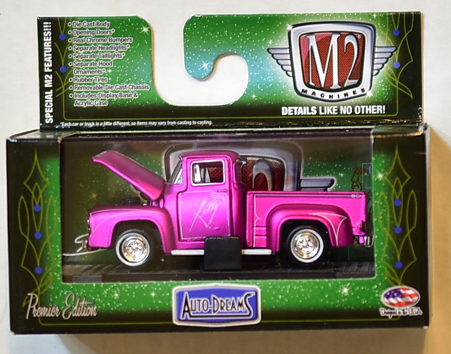 M2 MACHINES AUTO-DREAMS 1956 FORD F-100 TRUCK WALMART