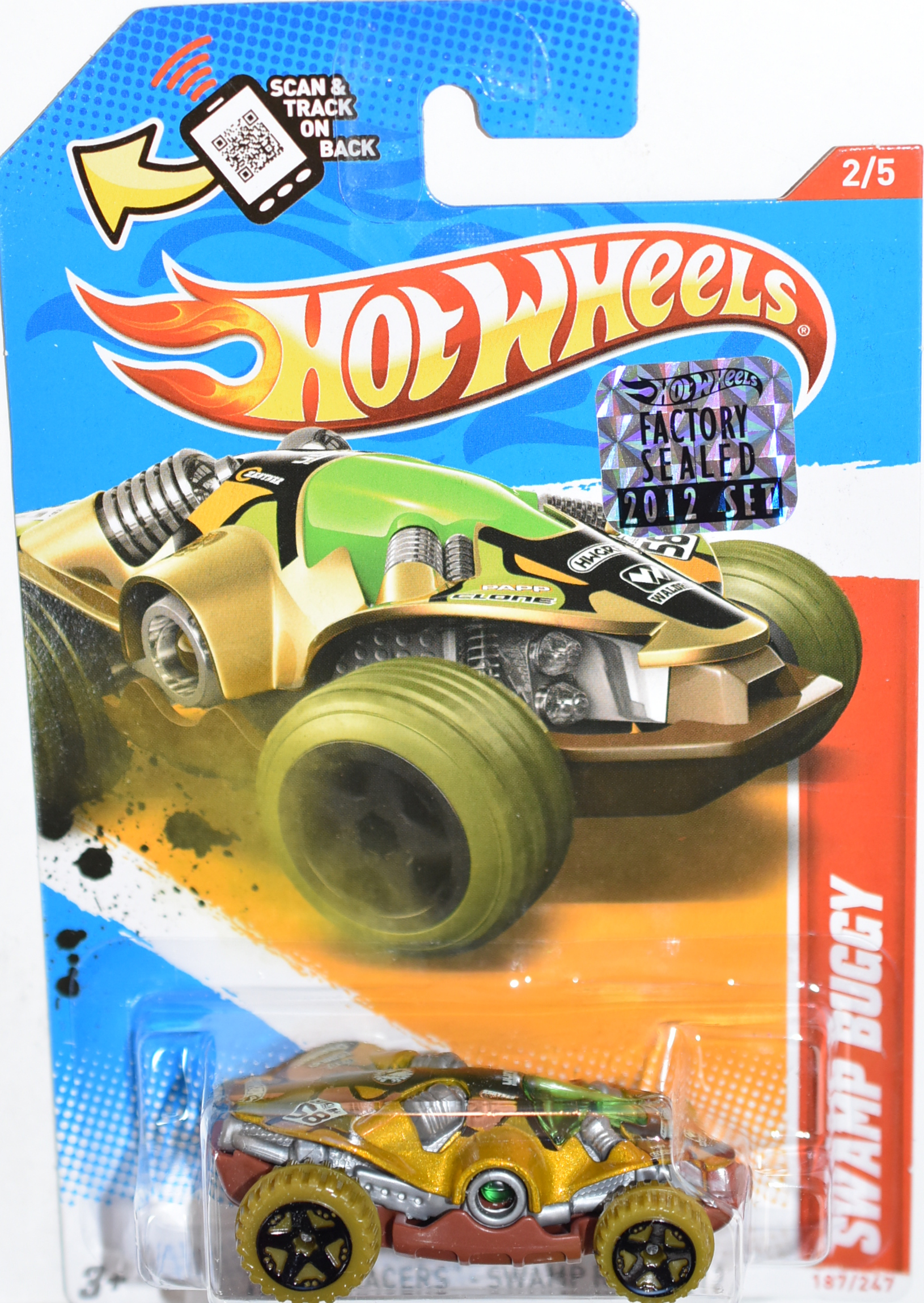 HOT WHEELS 2012 SWAMP BUGGY FACTORY SEALED