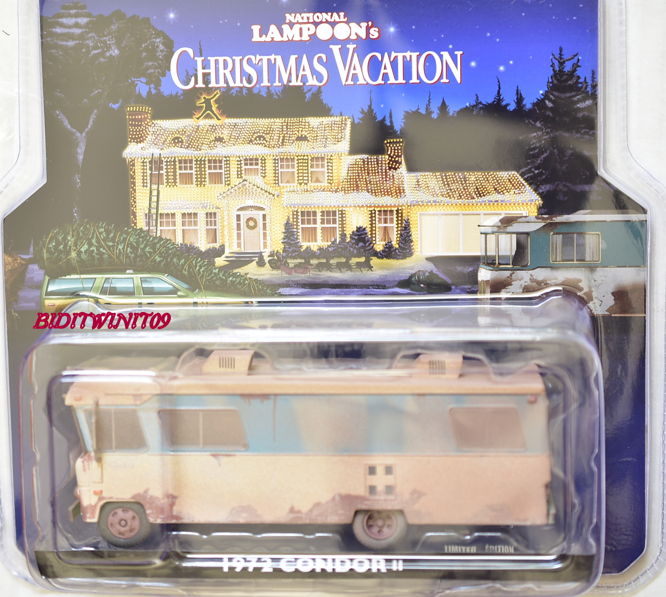 GREENLIGHT NATIONAL LAMPOON'S CHRISTMAS VACATION 1972 CONDOR II