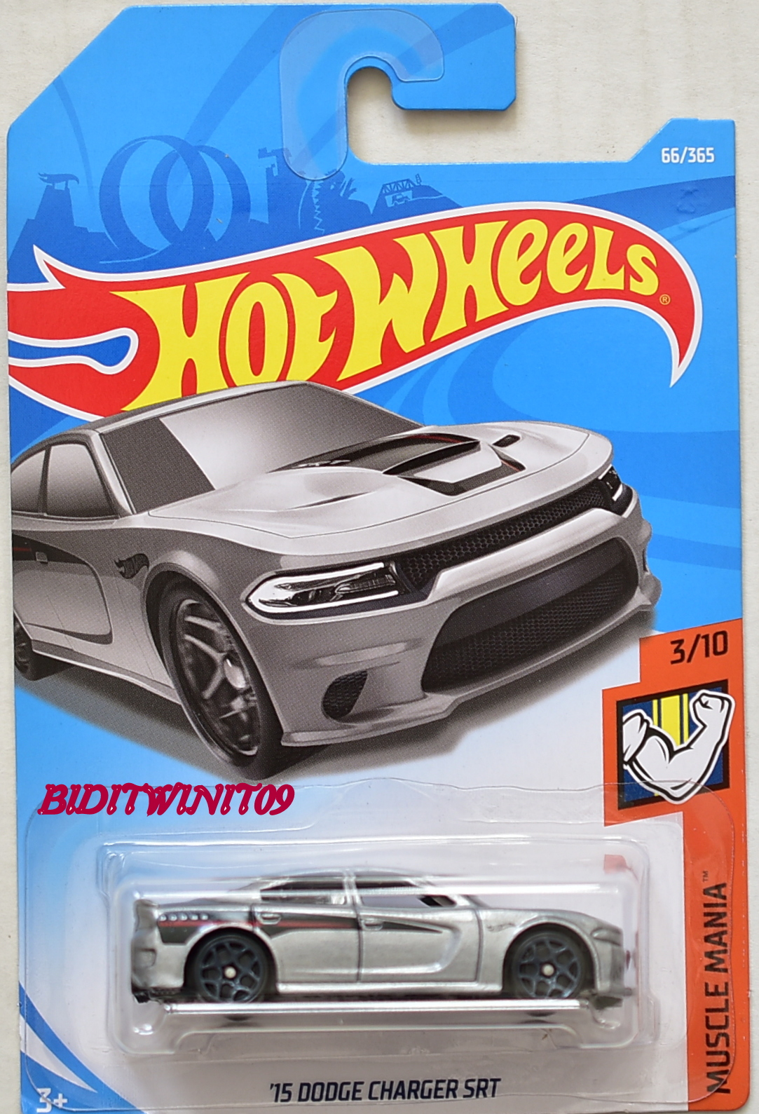 HOT WHEELS 2018 MUSCLE MANIA '15 DODGE CHARGER SRT