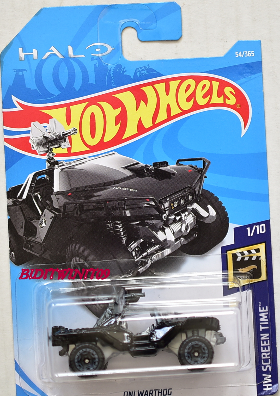 HOT WHEELS 2018 HW SCREEN TIME ONI WARTHOG