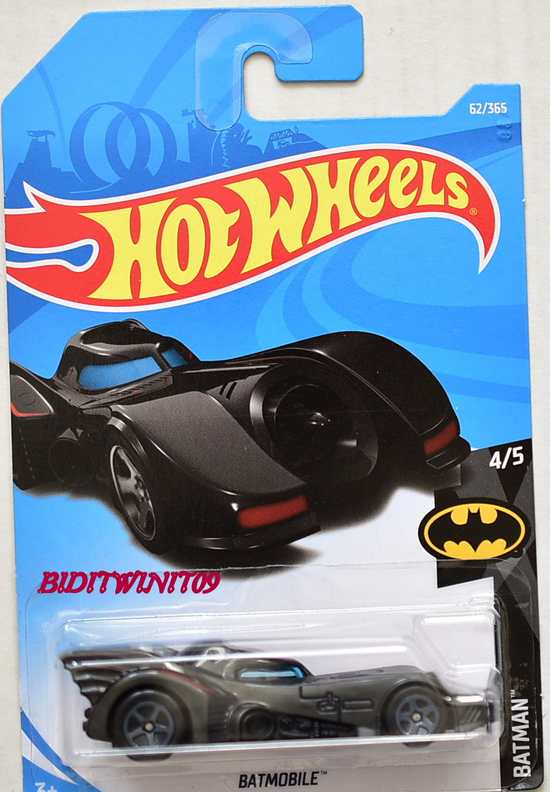 HOT WHEELS 2018 BATMAN BATMOBILE #4/5