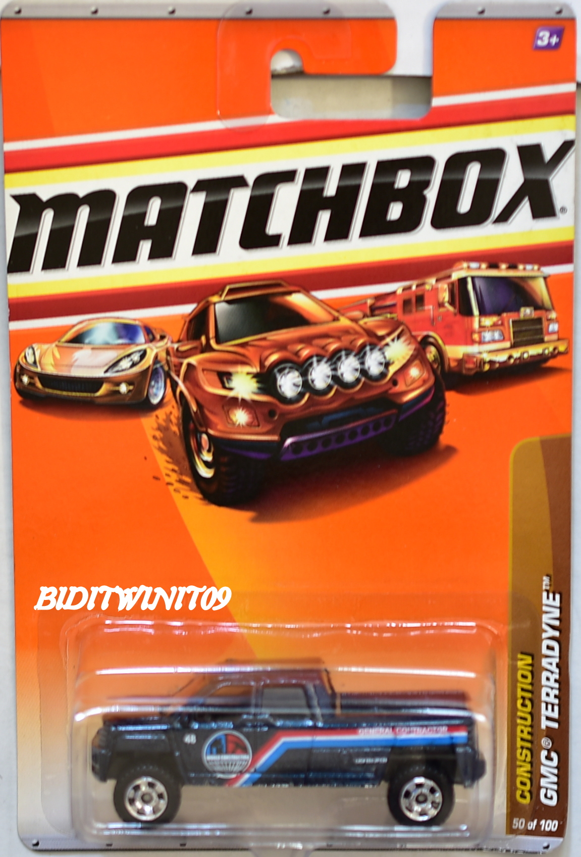 MATCHBOX 2010 CONSTRUCTION GMC TERRADYNE #50/100