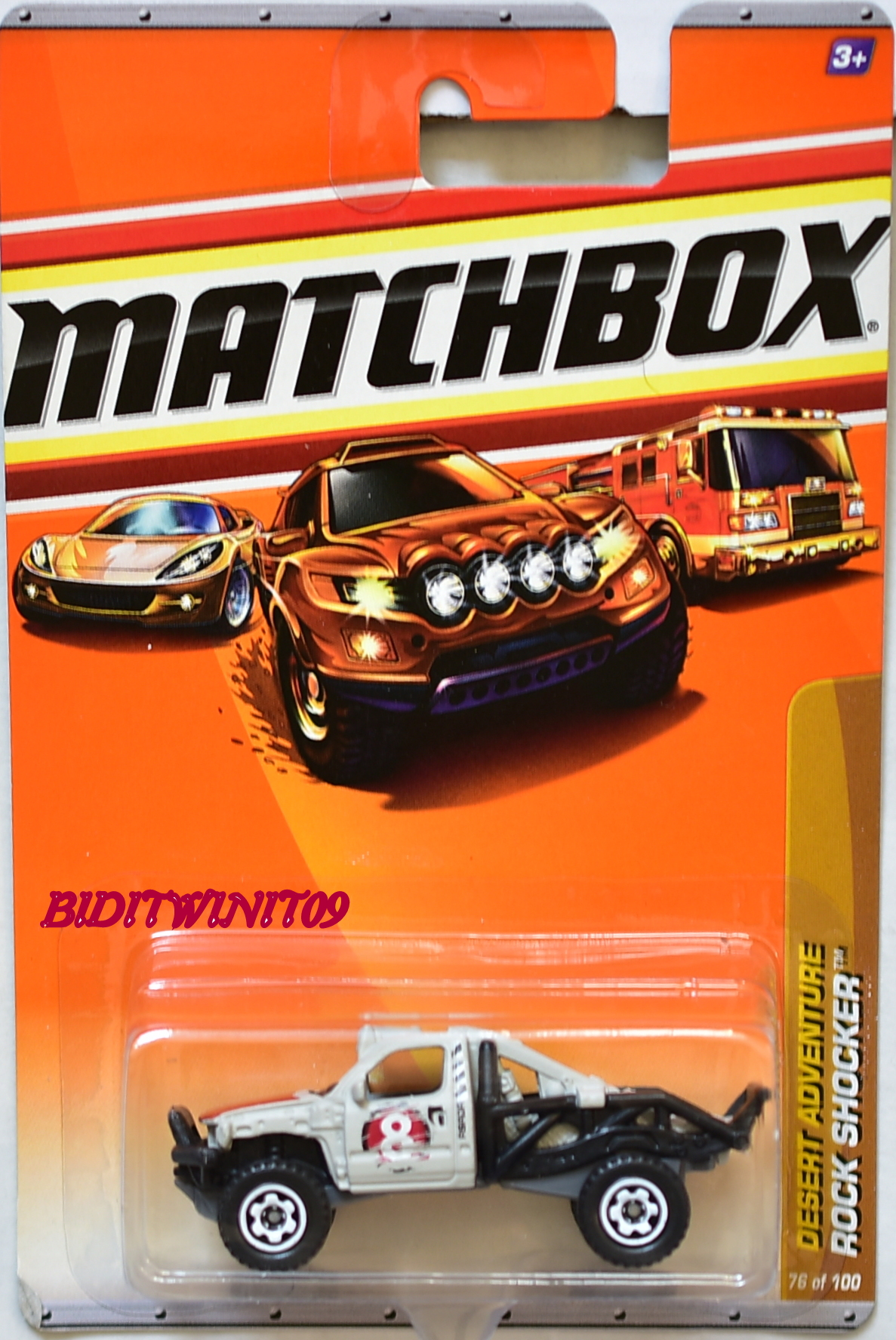 MATCHBOX 2010 DESERT ADVENTURE ROCK SHOCKER #76/100 E+