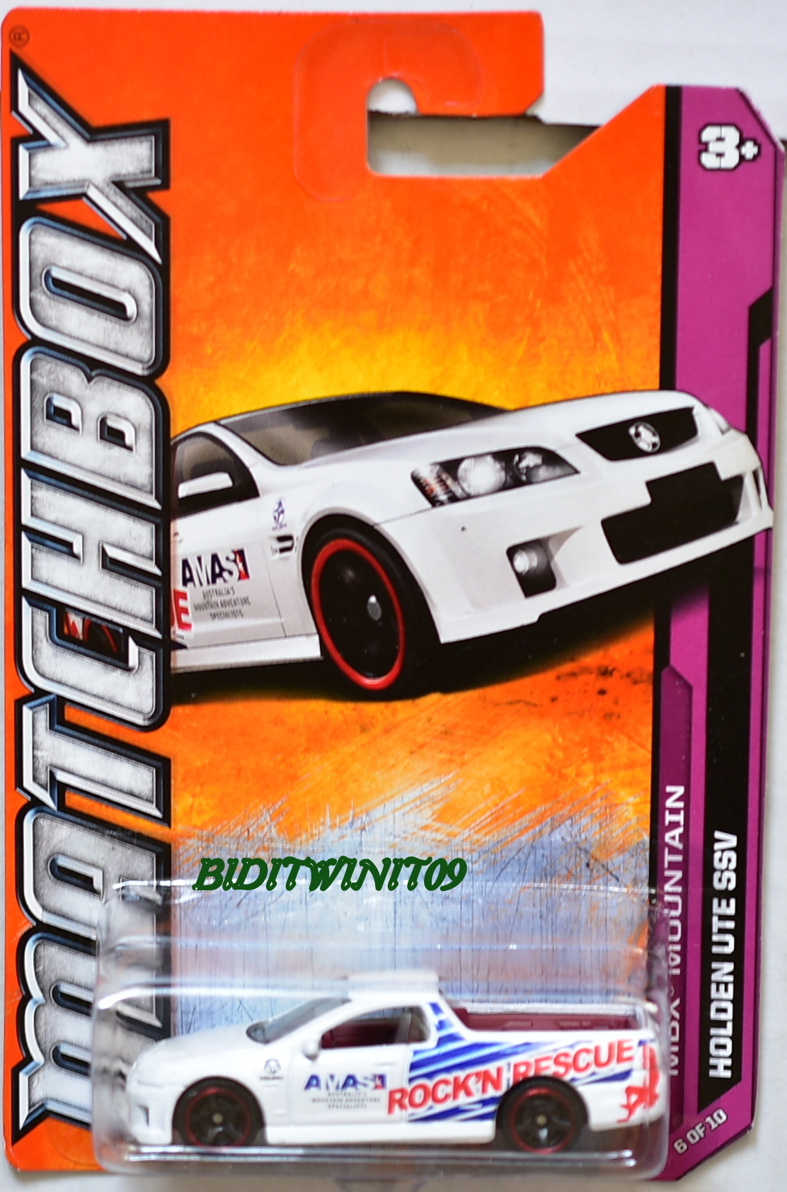 MATCHBOX 2012 MBX MOUNTAIN HOLDEN UTE SSV #6/10