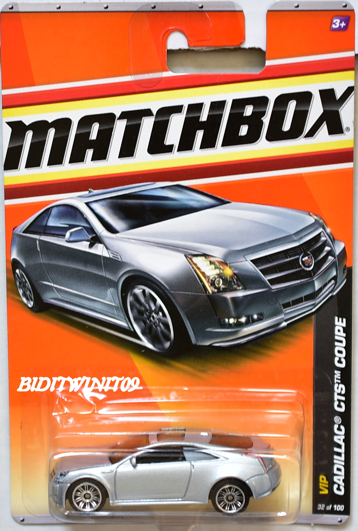 MATCHBOX 2011 VIP CALLAC CTS COUPE #32/100 SILVER