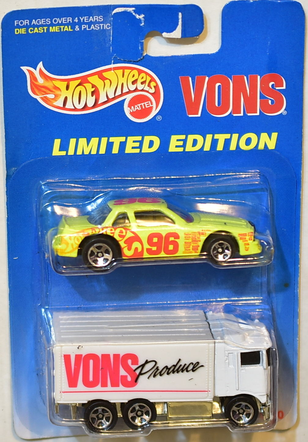 HOT WHEELS 2 CAR PACK LIMITED EDITION VONS HAULER - BUICK STOCKER