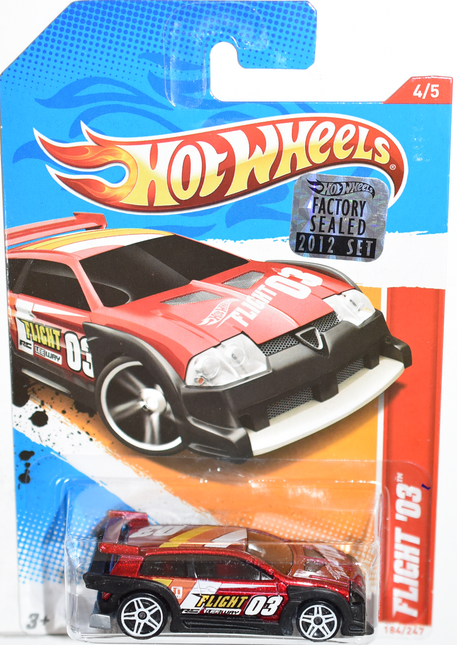 HOT WHEELS 2012 FLIGHT '03 FACTORY SEALED