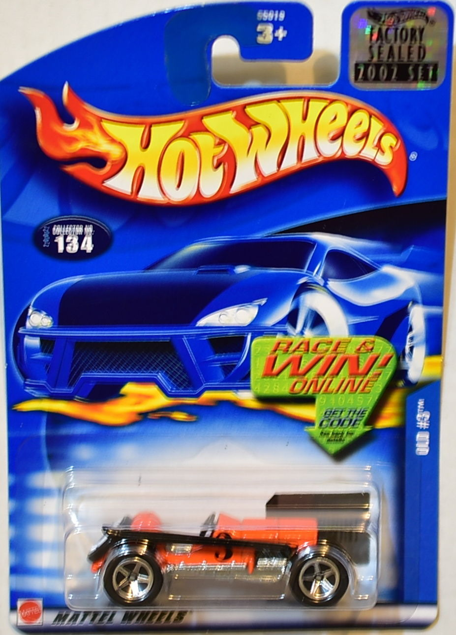 HOT WHEELS 2002 OLD #3 134 FACTORY SEALED