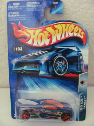 HOT WHEELS 2004 BACKDRAFT - TRACK ACES #193