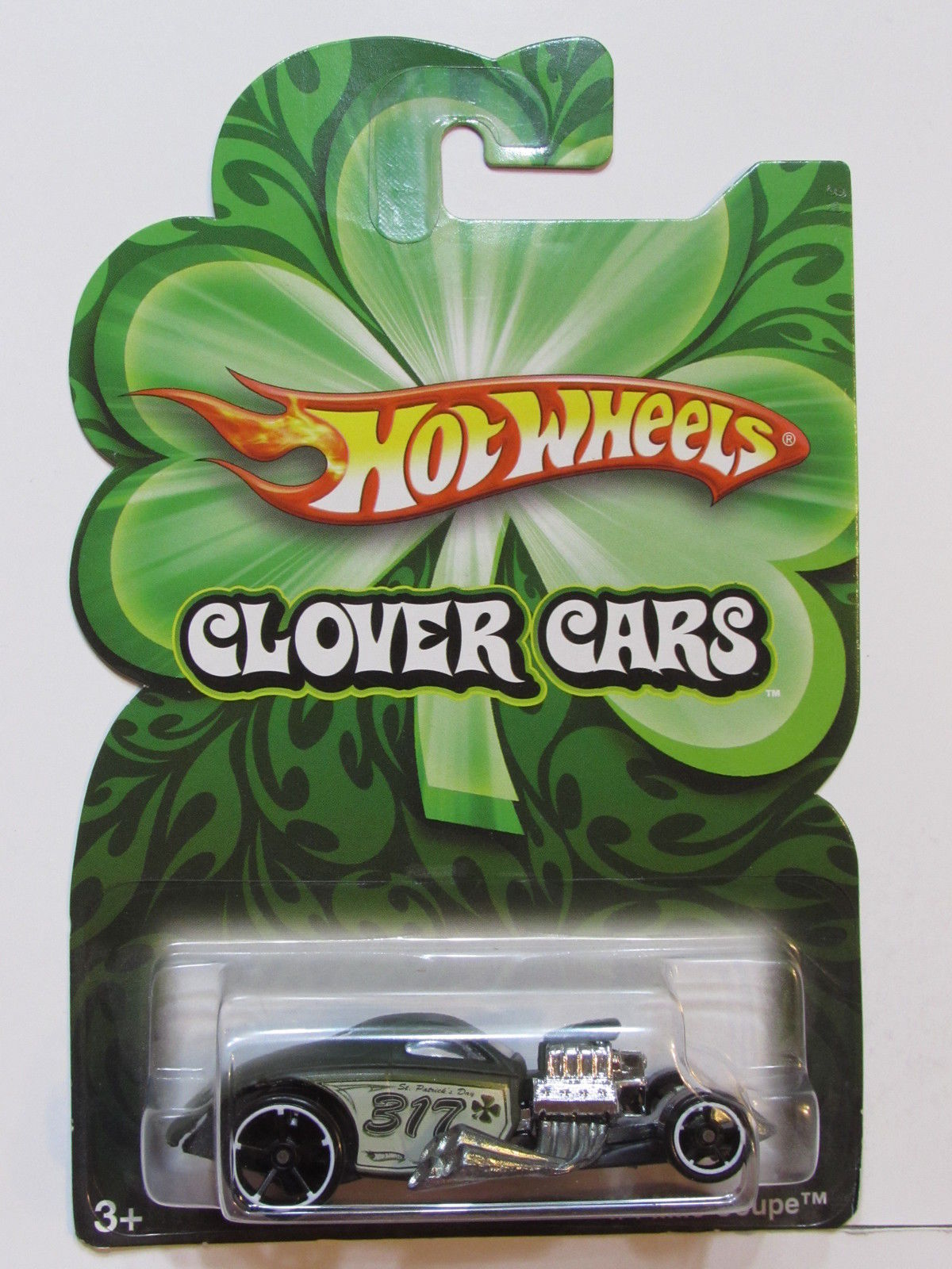 HOT WHEELS 2008 CLOVER CARS 1/4 MILE COUPE