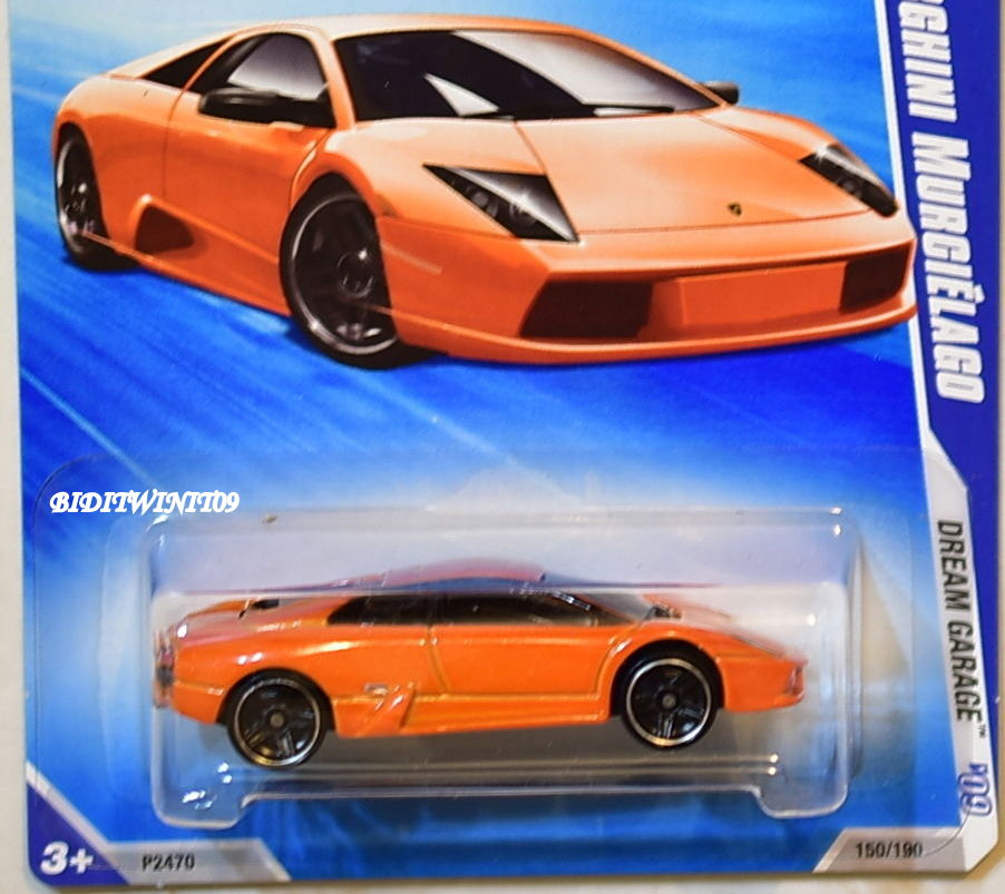 Hot Wheels 2009 Dream Garage Lamborghini Murcielago 04 10