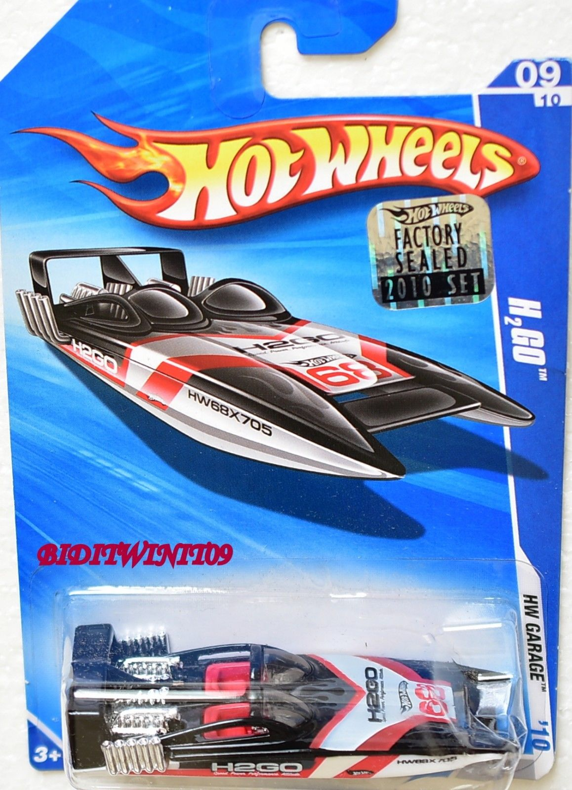 HOT WHEELS 2010 HW GARAGE H2GO #09/10 FACTORY SEALED
