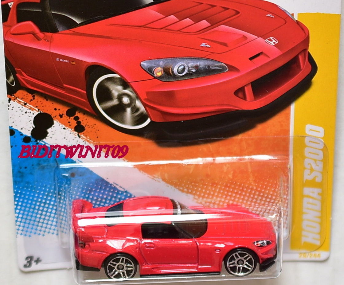 HOT WHEELS 2011 NEW MODELS HONDA S2000 RED