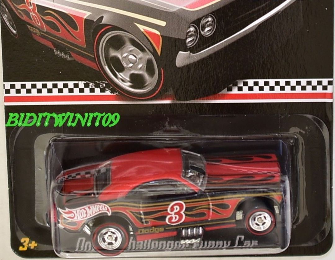 HOT WHEELS 2015 RLC PROMOTION MAIL IN DODGE CHALLENGER FUNNY CAR