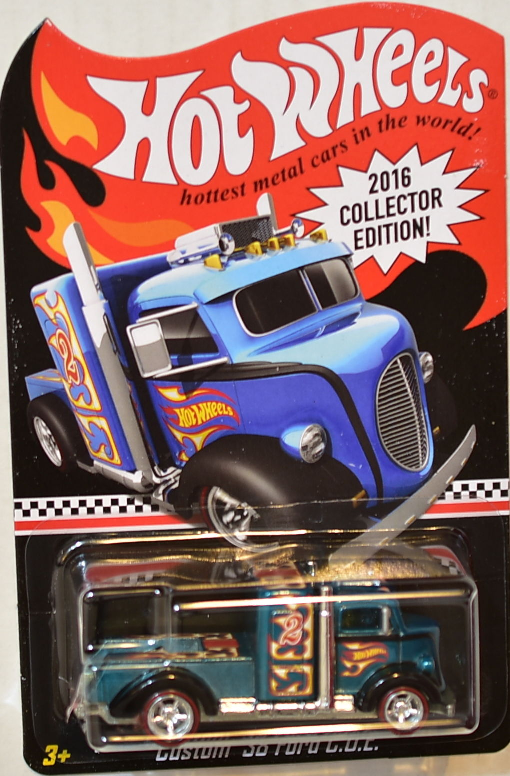 HOT WHEELS 2016 COLLECTOR EDITION CUSTOM '38 FORD C.O.E