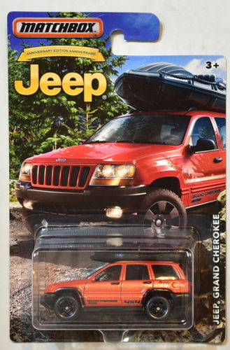 MATCHBOX JEEP 2016 JEEP GRAND CHEROKEE