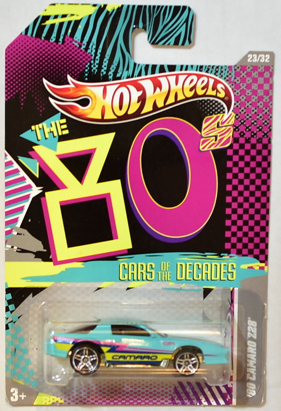 HOT WHEELS 2016 THE 80s CARS OF THE DECADES '80 CAMARO Z28