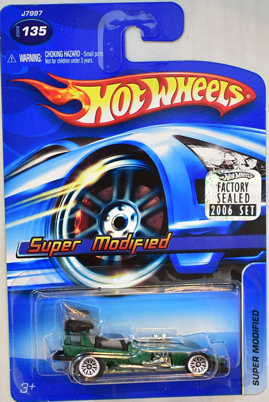 HOT WHEELS 2006 - SUPER MODIFIED #135 FACTORY SEALED
