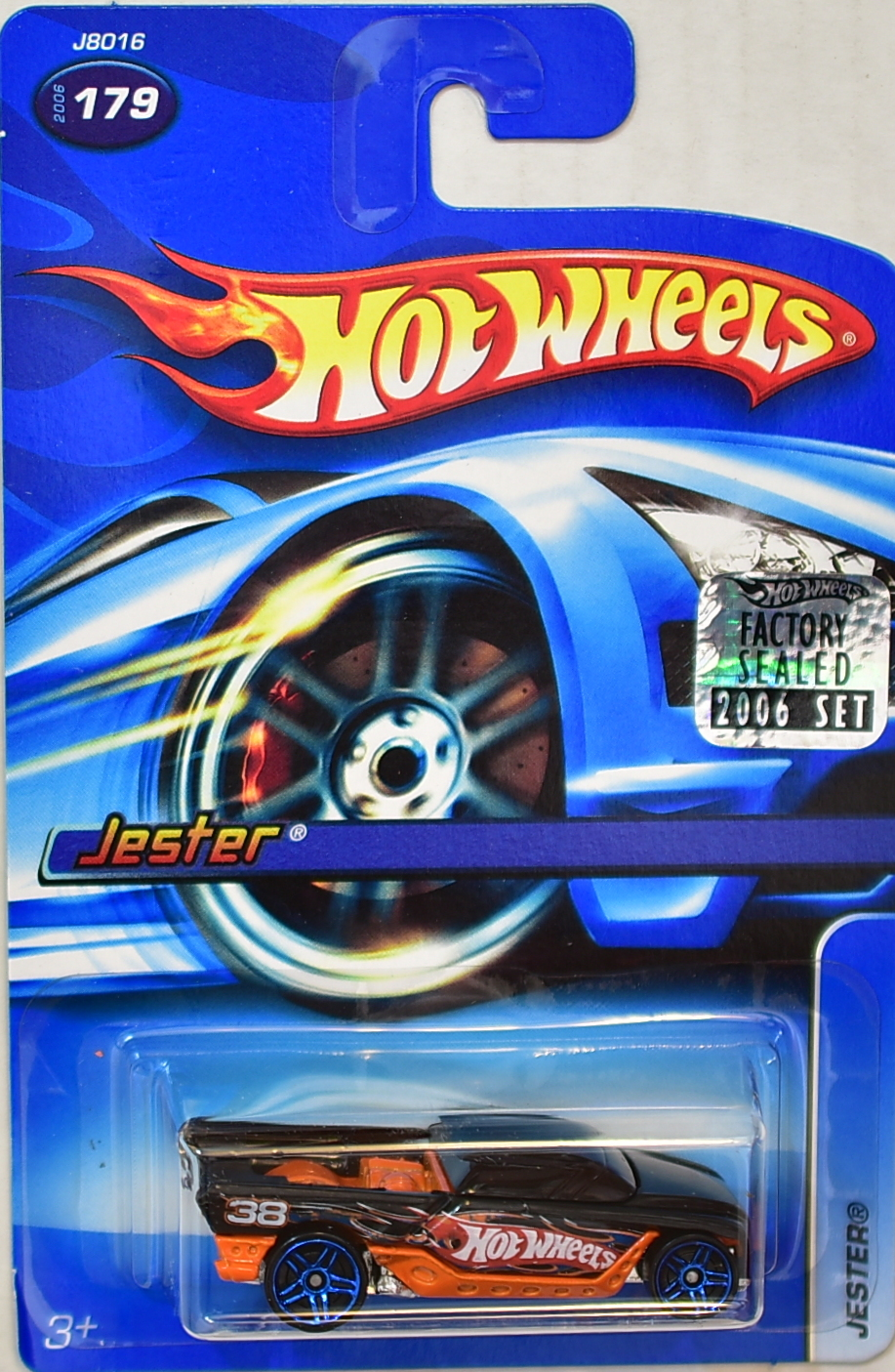 HOT WHEELS 2006 JESTER #179 FACTORY SEALED