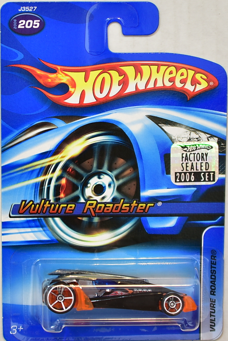 HOT WHEELS 2006 VULTURE ROADSTER #205 FACTORY SEALED