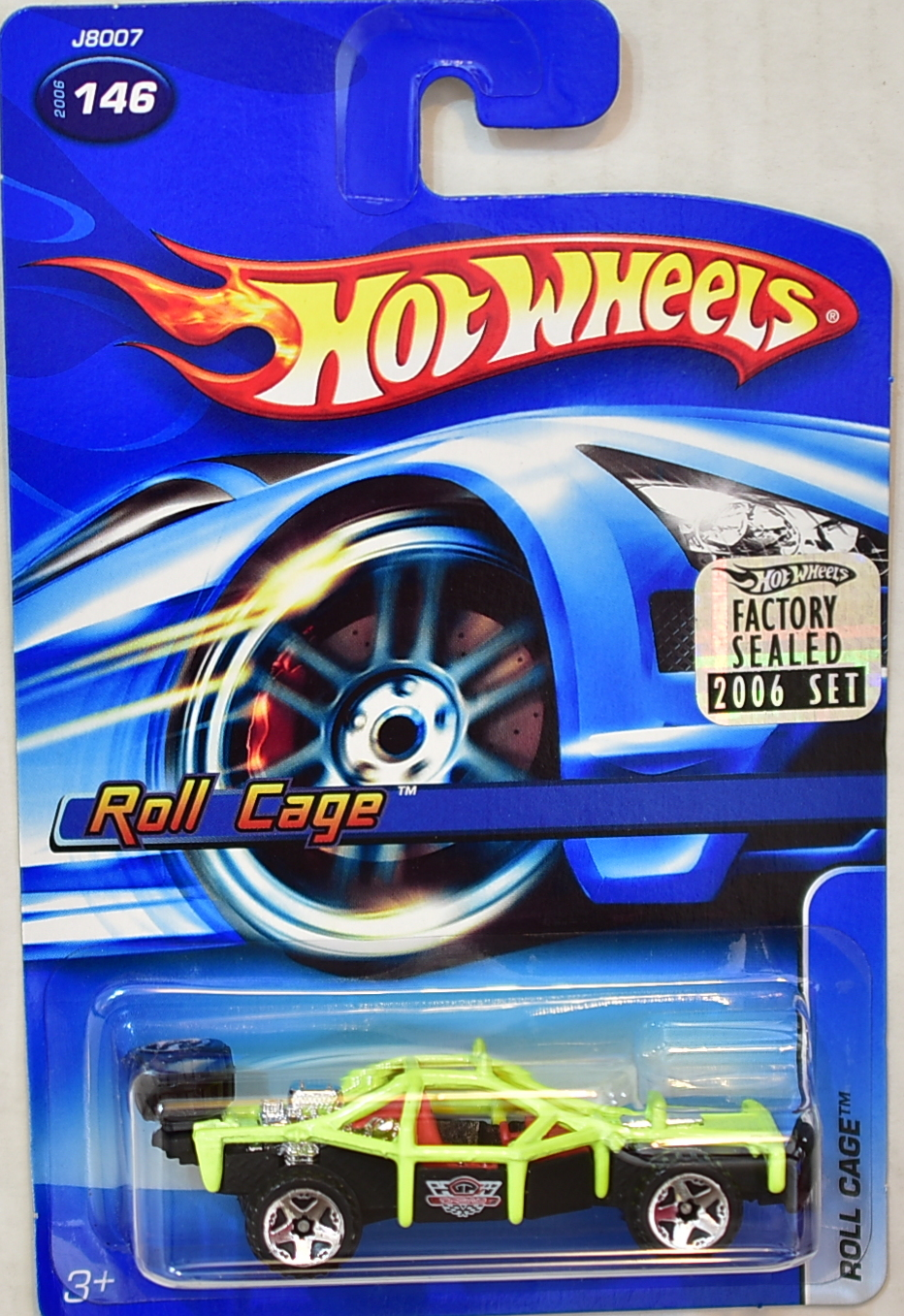 HOT WHEELS 2006 ROLL CAGE #146 FACTORY SEALED