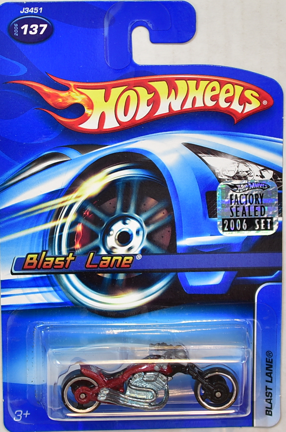 HOT WHEELS 2006 BLAST LANE #137 FACTORY SEALED