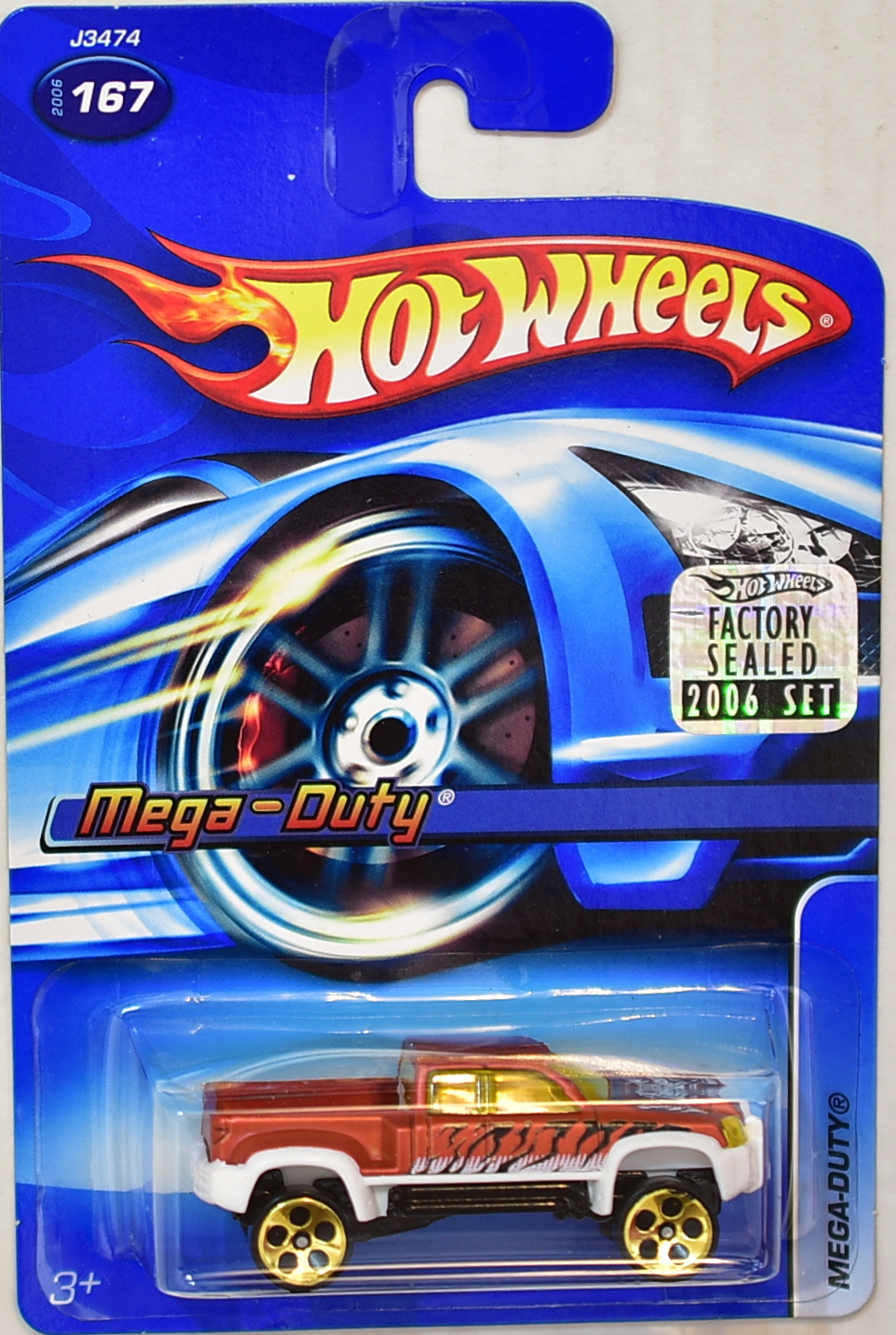HOT WHEELS 2006 MEGA-DUTY #167 FACTORY SEALED