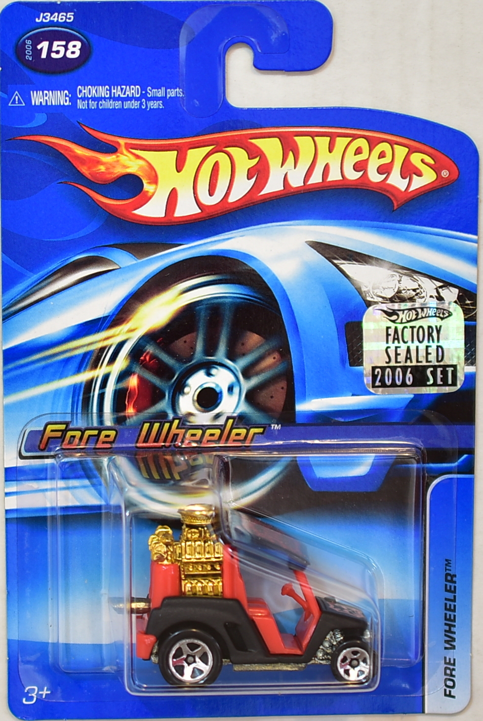 HOT WHEELS 2006 FORE WHEELER #158 FACTORY SEALED