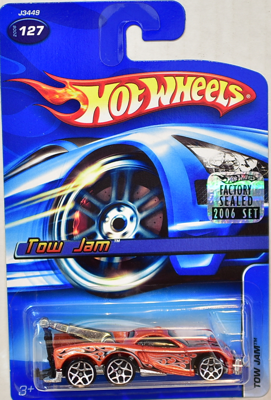 HOT WHEELS 2006 TOW JAM #127 FACTORY SEALED