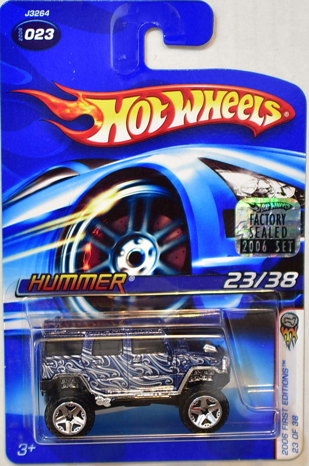 HOT WHEELS 2006 FIRST EDITIONS HUMMER #023 FACTORY SEALED