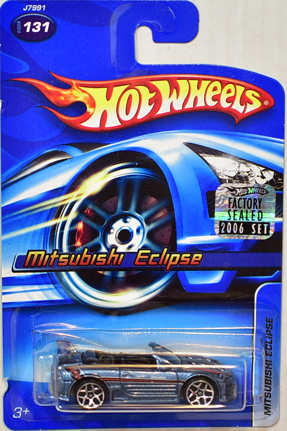 HOT WHEELS 2006 MITSUBISHI ECLIPSE #131 FACTORY SEALED