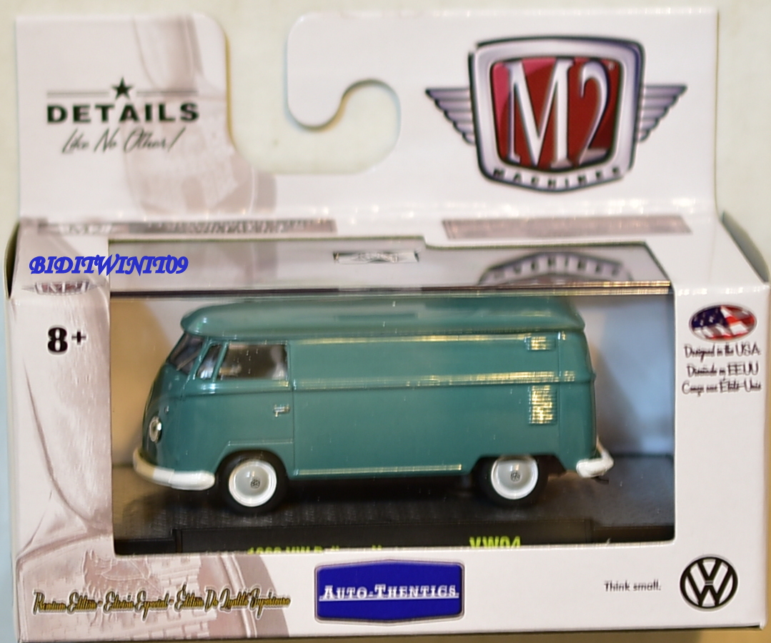 M2 MACHINES AUTO-THENTICS 1960 VW DELIVERY VAN