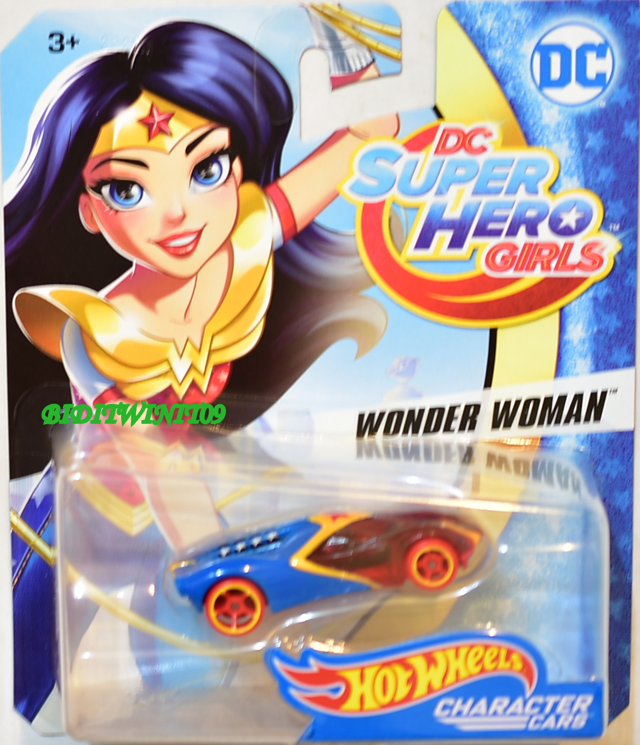 HOT WHEELS 2017 DC SUPER HERO GIRLS WONDER WOMAN