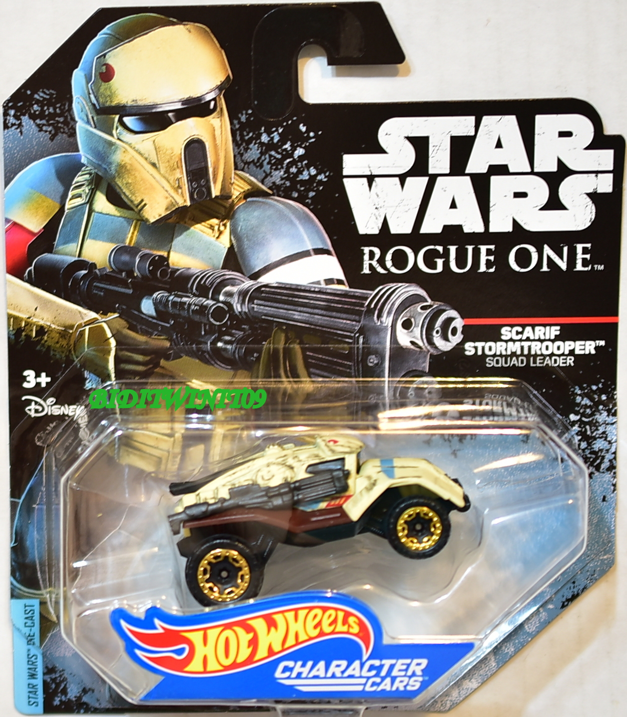 STAR WARS 2014 HOT WHEELS - ROGUE ONE SCARIF STORMTROOPER SQUAD LEADER