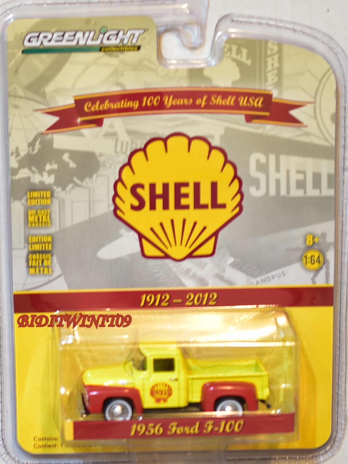 GREENLIGHT 2017 1956 FORD F-100 SHELL